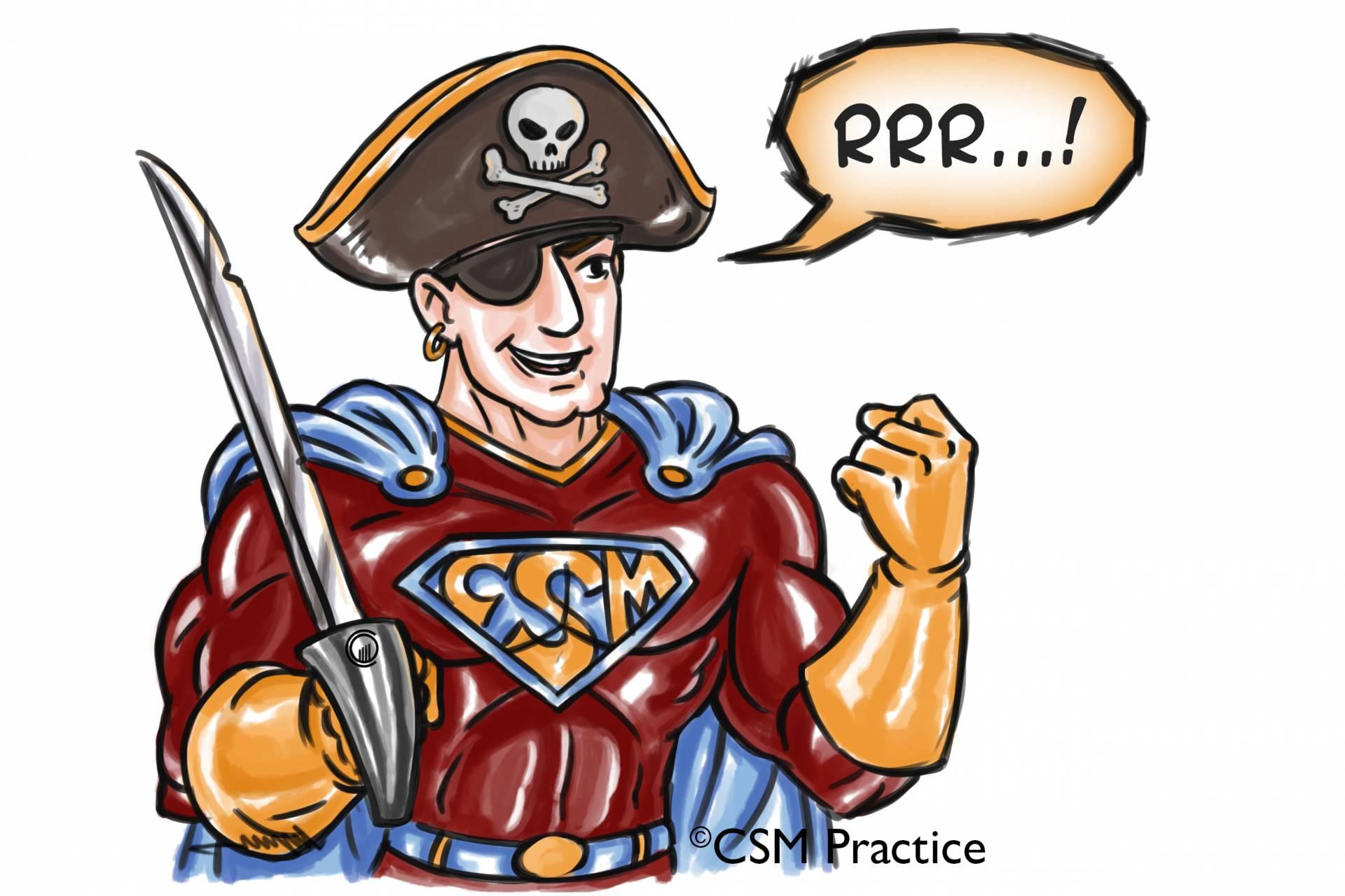 CSM hero as Pirate