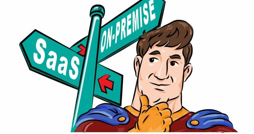 saas and on-premise