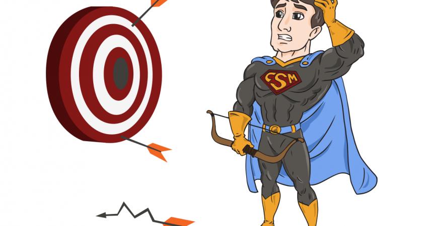 CSM Superhero missing target