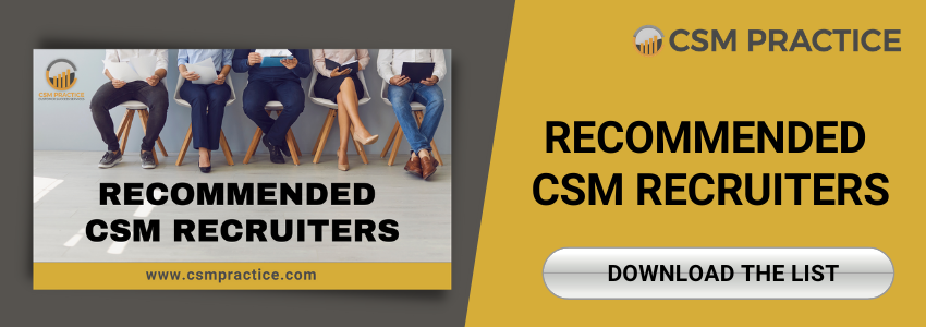 CSM Customer success managers recruiters list download