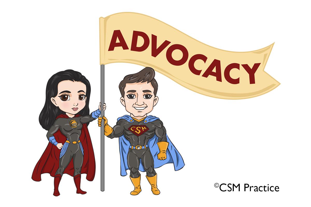 advocacy flag