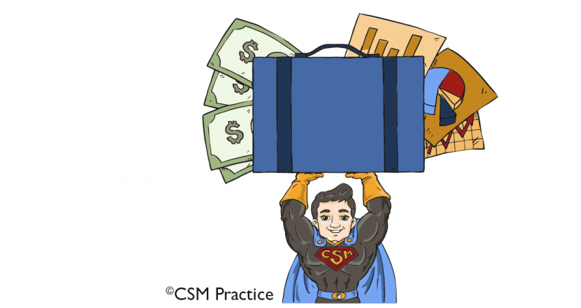 CSM hero with portfolio