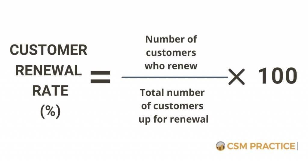 Customer Renewal Rate Customer Success
