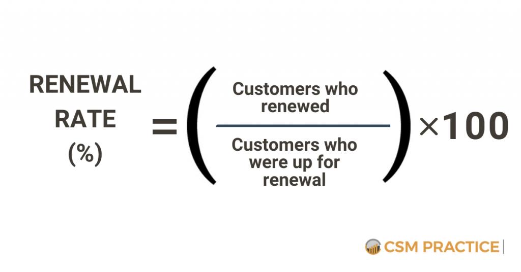 Renewal Rate Customer Success