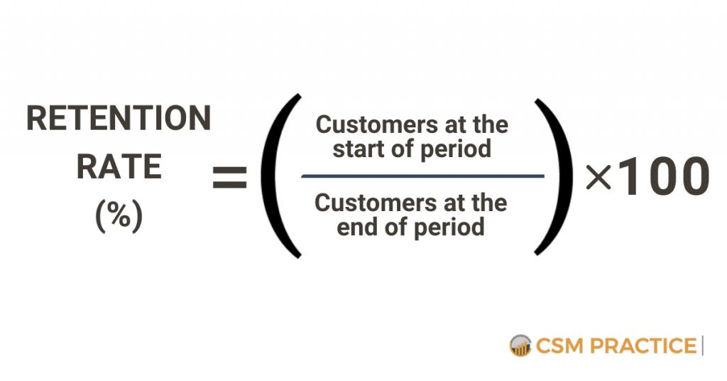 Retention Rate Customer Success