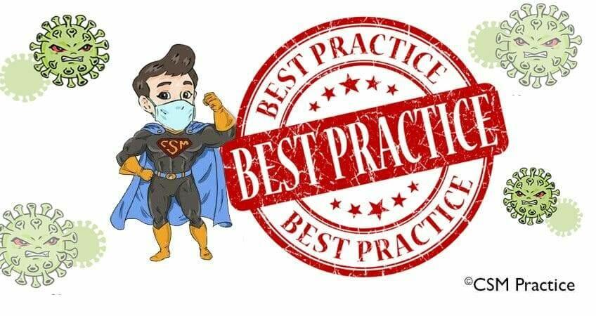 best practice csm hero