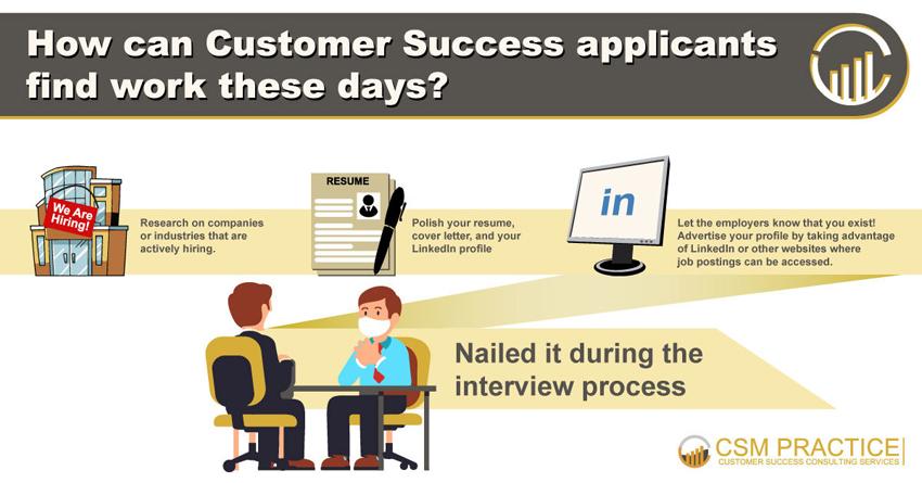 customer success job applicant