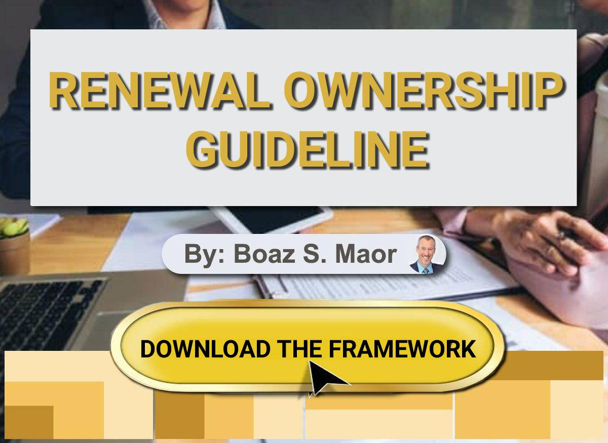 Framework Renewal Ownership for Customer Success