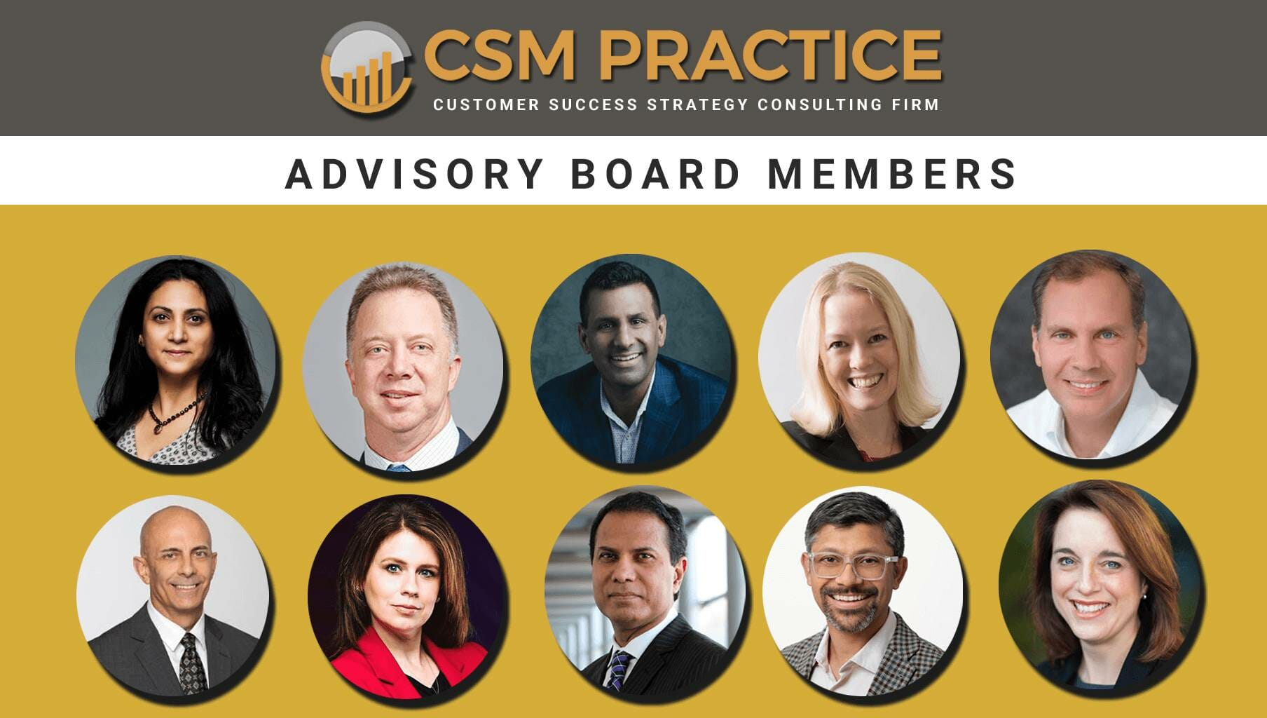 CSM Practice Advisory Board Members 1
