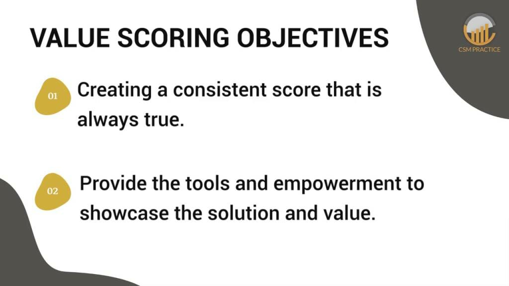Value scoring methodologies