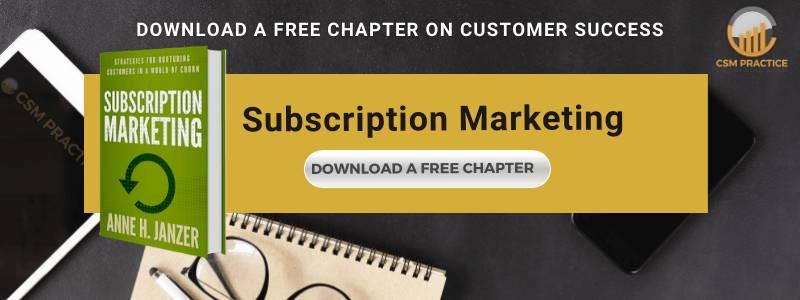 Subscription marketing book anne janzer