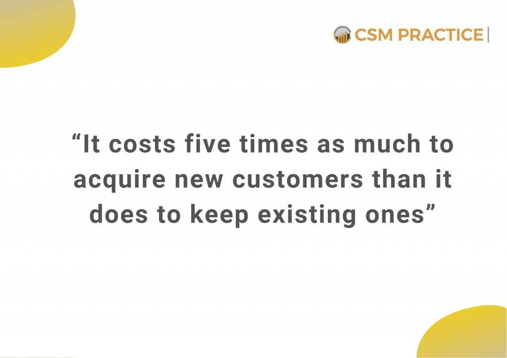 customer success cost of retention