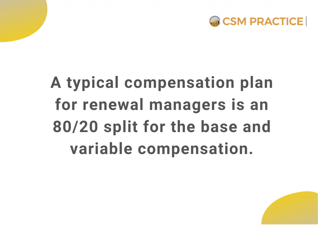renewal managers salary