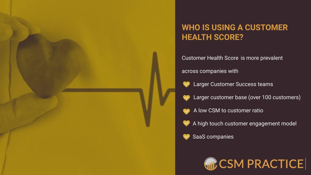 Customer Success CSM Practice Customer Health Score Research Survey