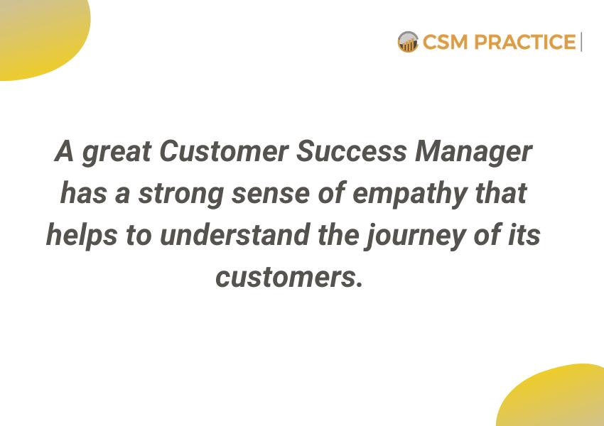 great CSM customer success manager