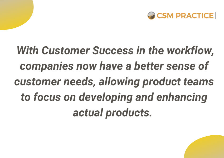 Customer Success and Product Roadmap
