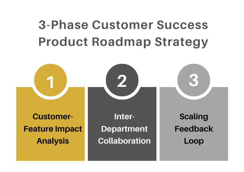 phases customer success product roadmap strategy 1
